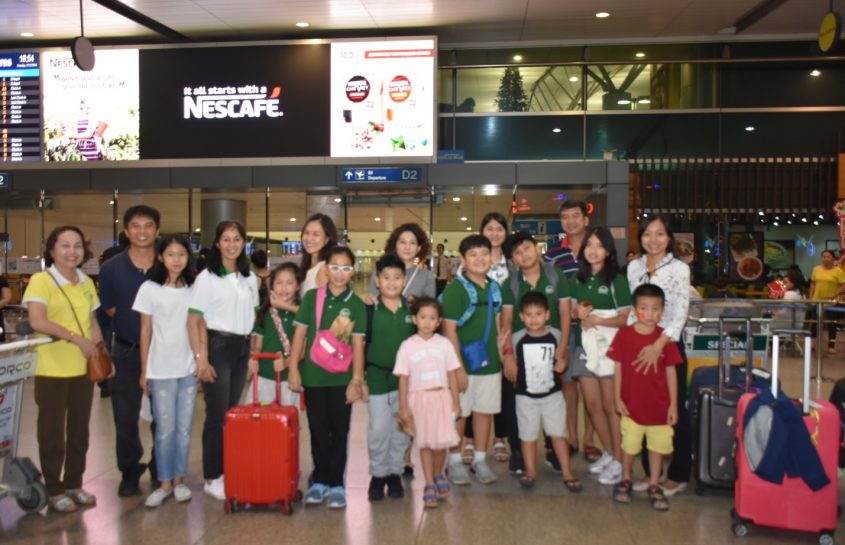 FOSCO International School (FIS) sent students to Australia for Winter Camp 2018